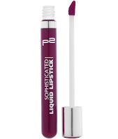 p2 Neuprodukte August 2015 - sophisticated liquid lipstick 080 - www.annitschkasblog.de