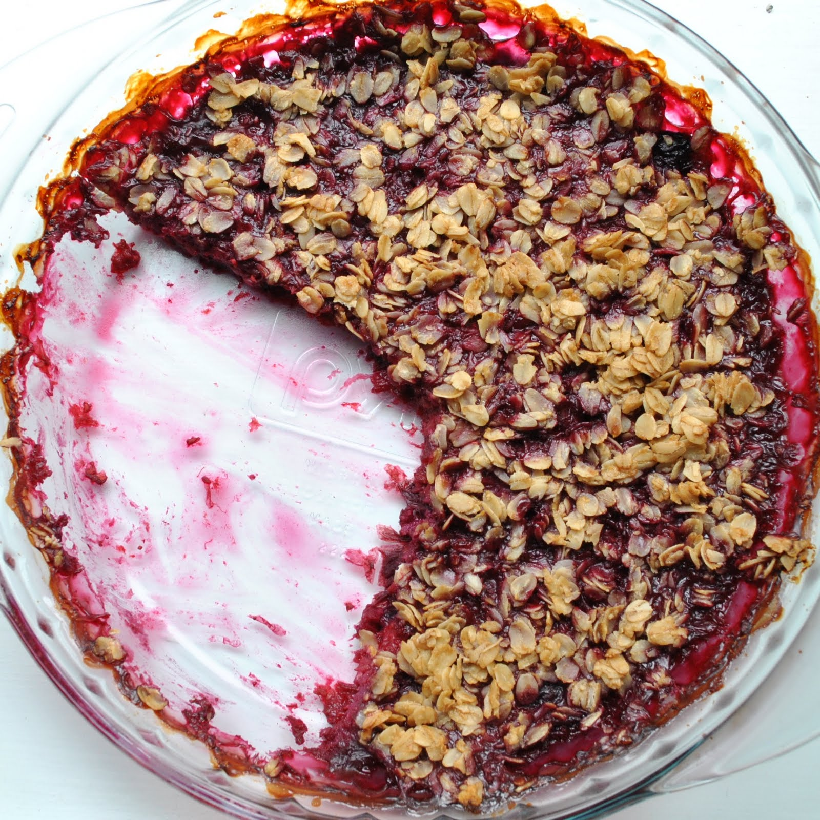 Baking Powders: Blueberry-raspberry crisp