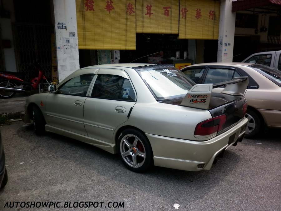 Modified Wira Sedan Bodykit