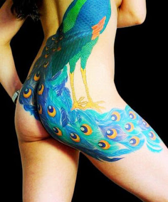 peacock tattoo picture
