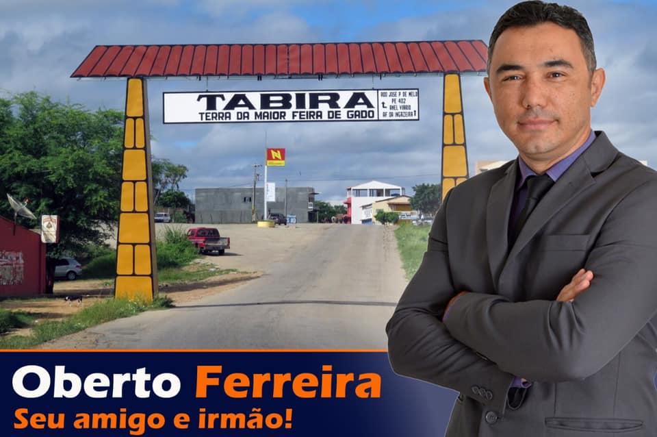 OBERTO FERREIRA SEU AMIGO E IRMÃO TABIRA-PE