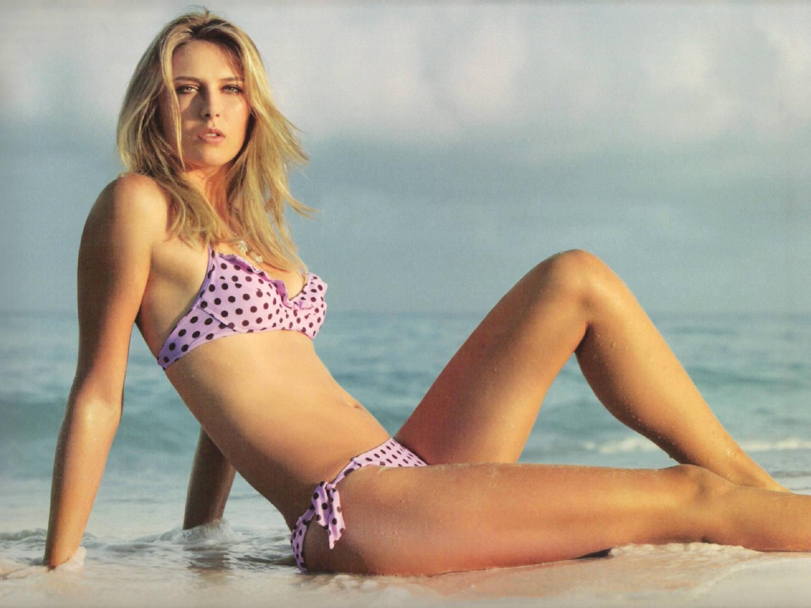 Hot Sports Celebrities: Maria Sharapova Hot