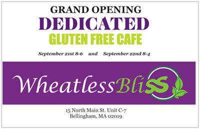 Wheatless Bliss - gluten free