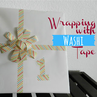 Wrapping with Washi Tape