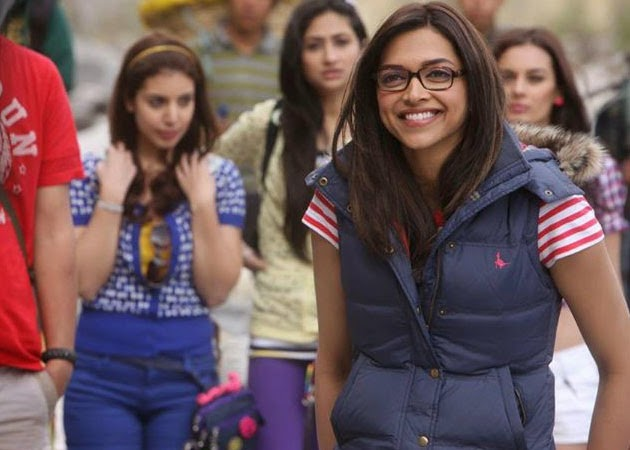 Deepika Padukone in the movie Yeh Jaawani Hai Deewani