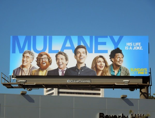 Mulaney series premiere billboard