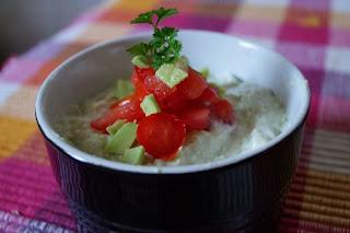Guacamole cu Gorgonzola = Gorgocamole
