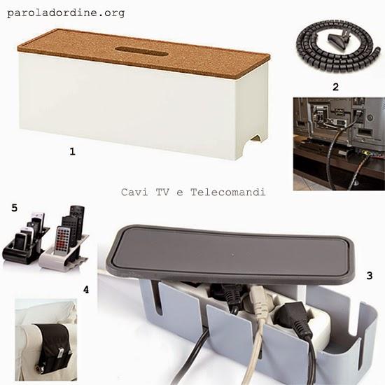 paroladordine-soggiorno-cavi tv e telecomandi