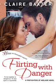 http://www.amazon.com/Flirting-Danger-Firefighters-Adelaide-Entangled-ebook/dp/B00EMSY3Y0/ref=sr_1_1?s=books&ie=UTF8&qid=1391086295&sr=1-1&keywords=claire+baxter+flirting+with+danger