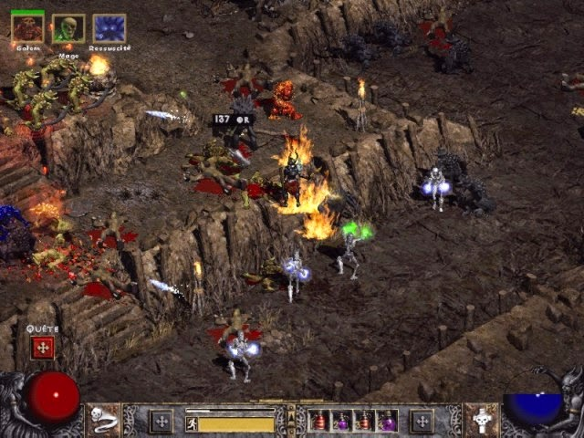 Diablo 2 PC Games Gameplay