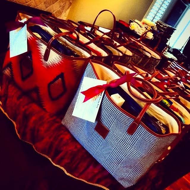 Barrington Gifts St. Anne Tote bag, St Anne Tote, Golden Globes Swag bag, Barrington GIfts