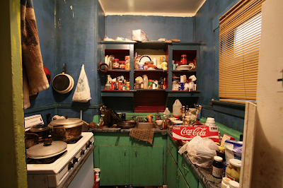 clutter, dirty kitchen, kitchen clutter