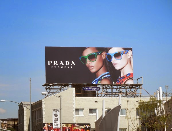 Prada Eyewear April 2014 billboard