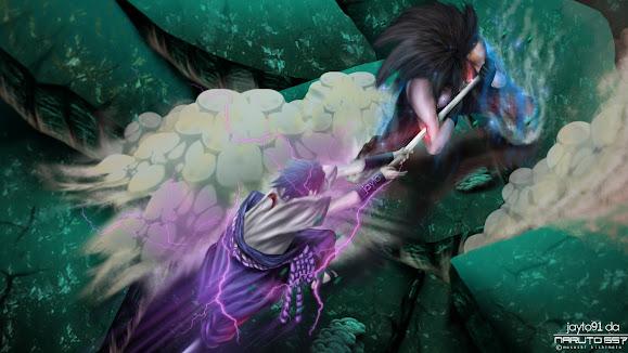 Sasuke vs Madara 1x