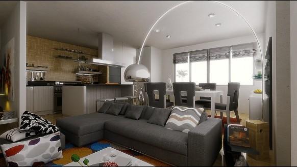 Ideas de salas comedor modernas ideas para decorar - Sala comedor modernos ...