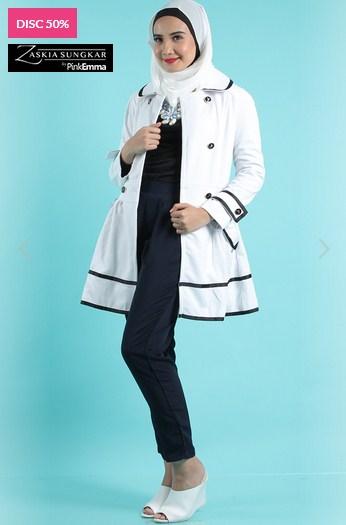 Koleksi Baju Muslim Rancangan Zaskia Sungkar Trend Sekarang