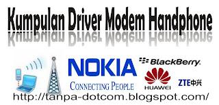 Kumpulan driver handphone cdma gsm