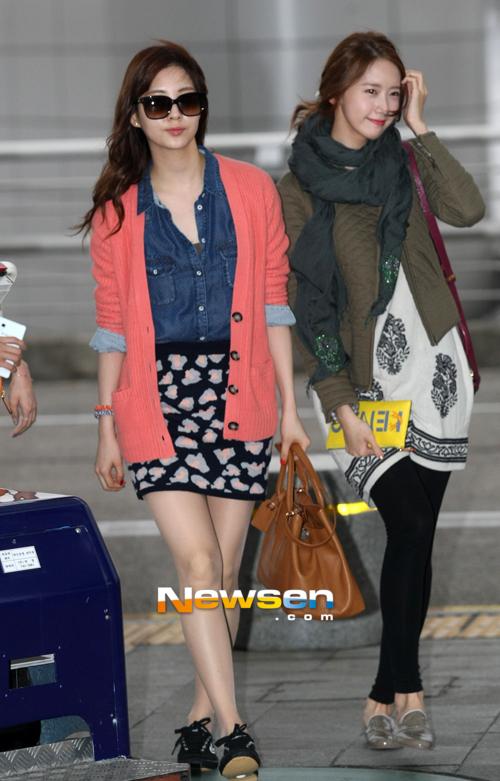SNSD Di Bandara Incheon 13
