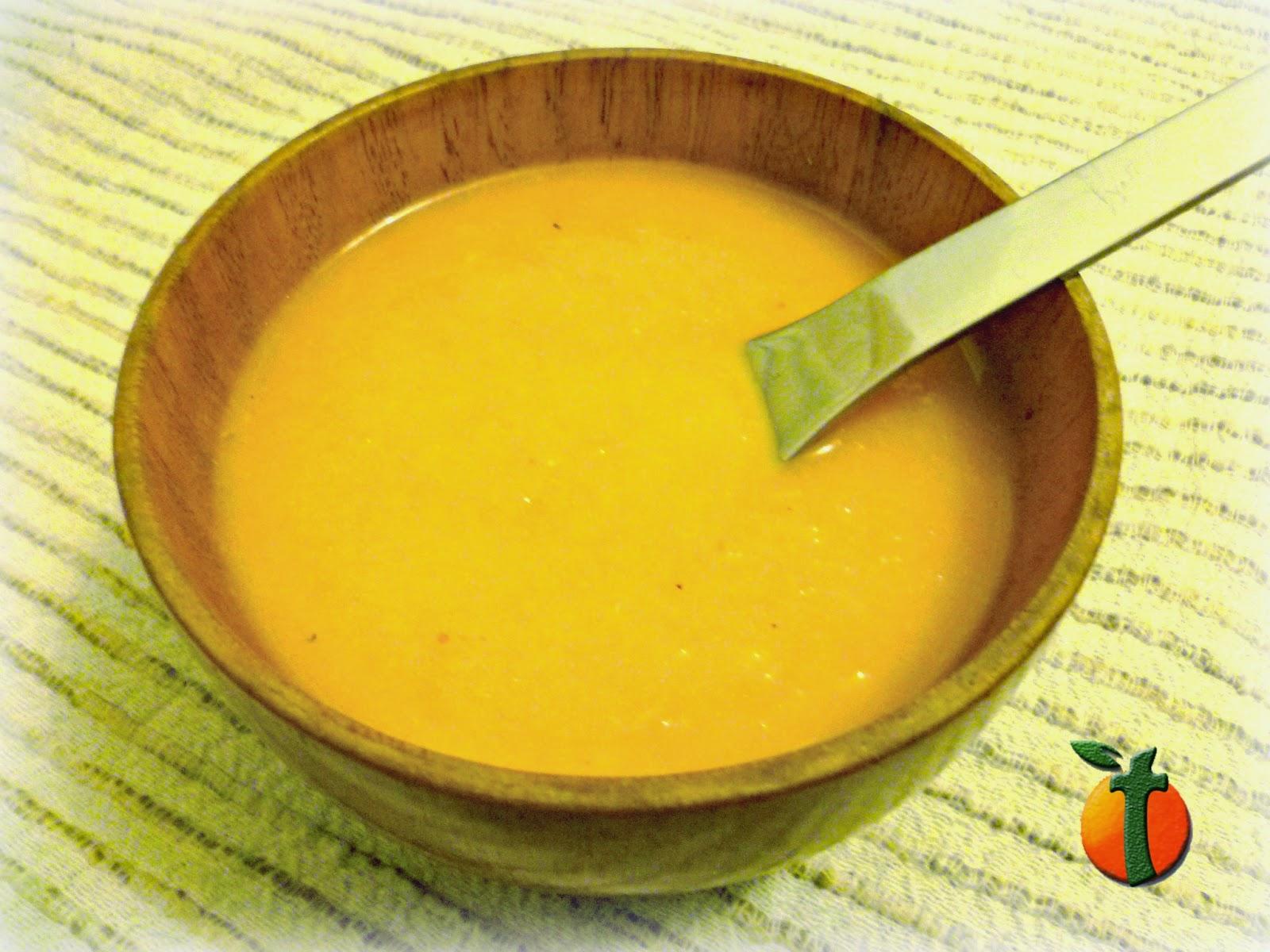Crema Depurativa de Apio y Zanahoria