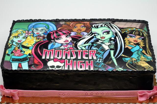 Monster High Photo Cake in Lnndon