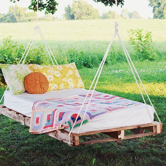 Garden Furniture : Palette / Meble ogrodowe z palet . | Creative Ideas