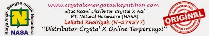 Crystal X Merawat dan Menjaga Organ Kewanitaan