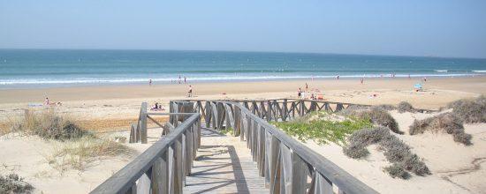 Playa de la Barrosa en Chiclana - Cádiz