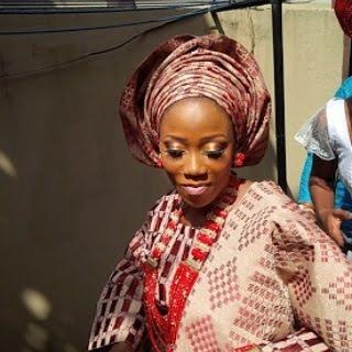 photos of Tosyn Bucknor traditional wedding