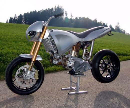 Concept Motorcycles | Prototype motorcycles | custom bikes | future concept | Duss Motard 599 | way2speed.com