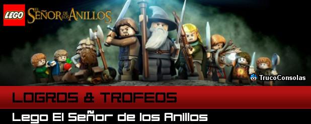 Logros y Trofeos Lego El Señor de los Anillos PS3 XBox 360