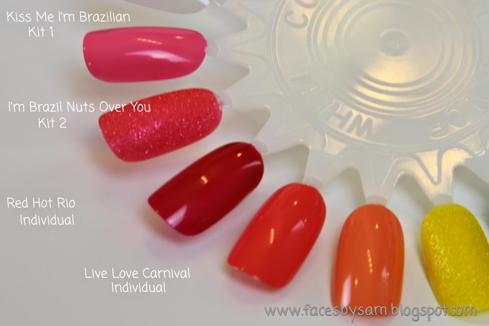 OPI Brazil Nail Polish Collection Review