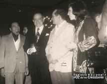 Miguel Otero Silva y Luis Mariano Rivera