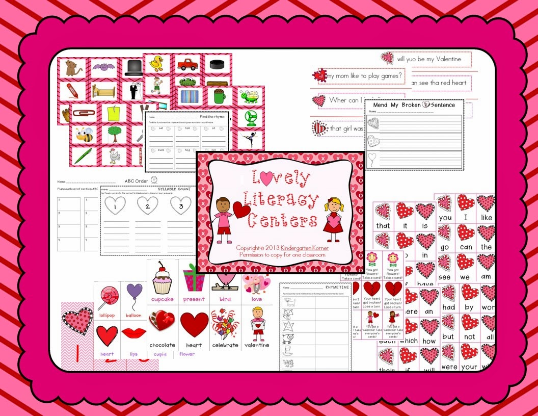 http://www.teacherspayteachers.com/Product/Lovely-Literacy-Centers-536000