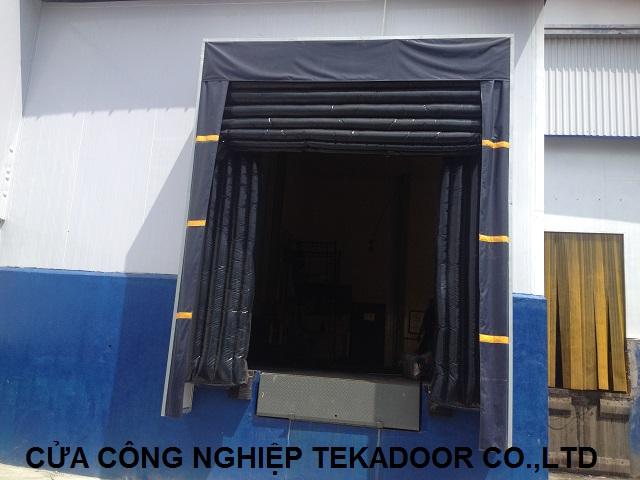 bộ trùm túi khí dock shelter
