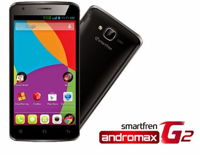 Harga Spesifikasi Smartfren Andromax G2