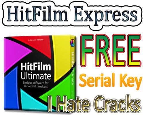 hitfilm 4 express serial code free