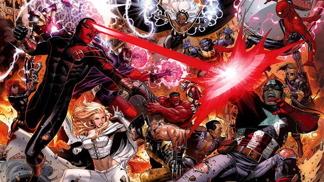 Avengers vs X-Men. Marvel, Comics