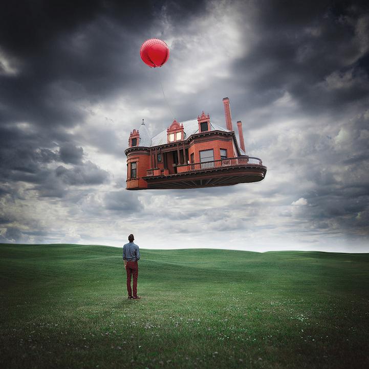 Mundos surreales creados por el fotógrafo Logan Zillmer
