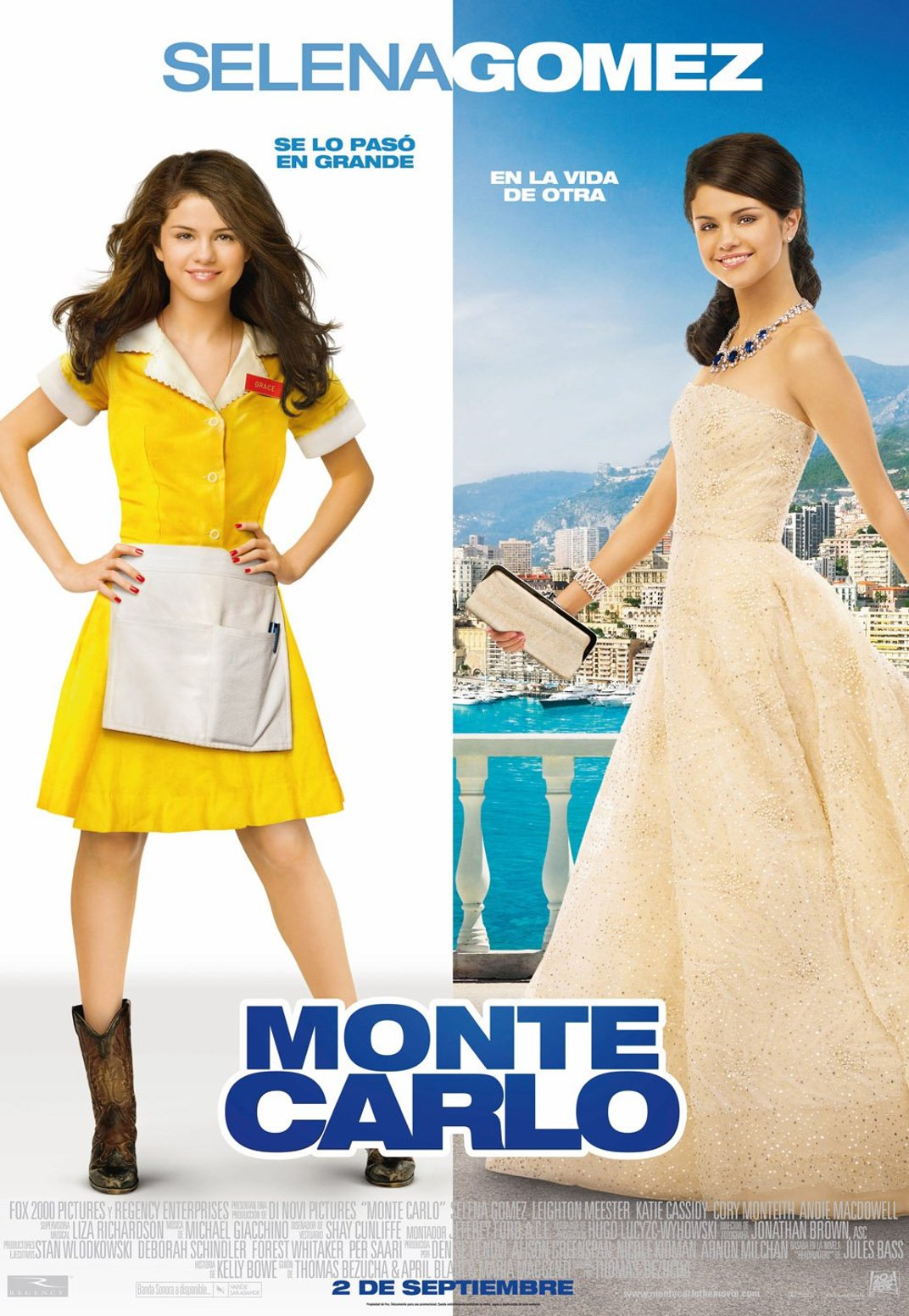 Monte Carlo Movie Cast Monte Carlo Movie