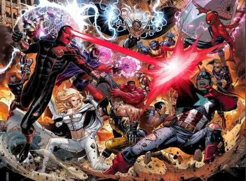 avengers vs x men Vingadores vs X Men Completo