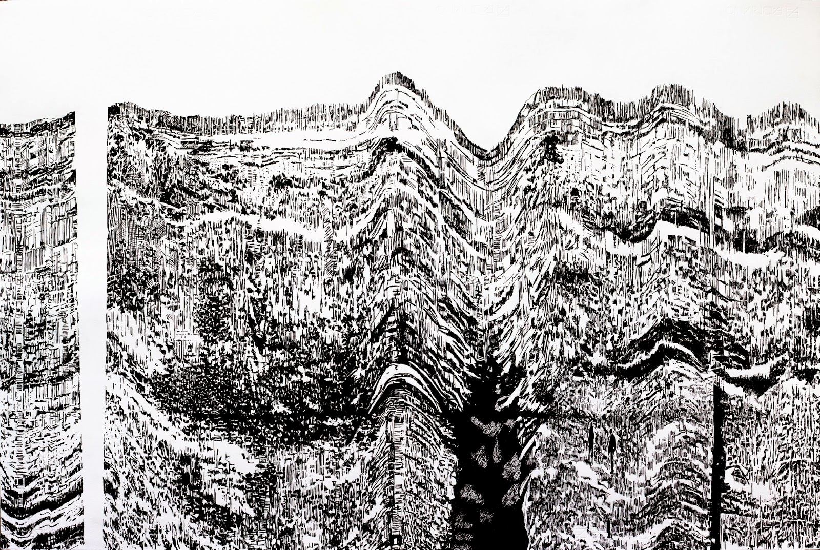 Richard Wade39s Art Blog New Pen And Ink Drawings On Paper