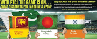 PTCL International Dialing Offer for World Cup