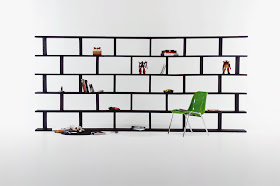 Brick Wall Shelf