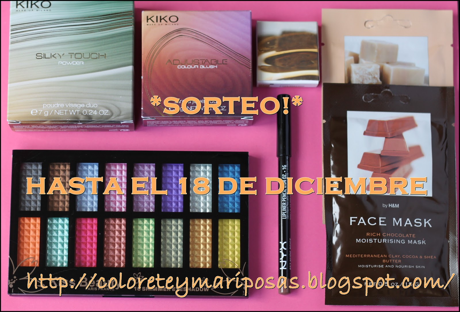Sorteo en Colorete y Mariposas!