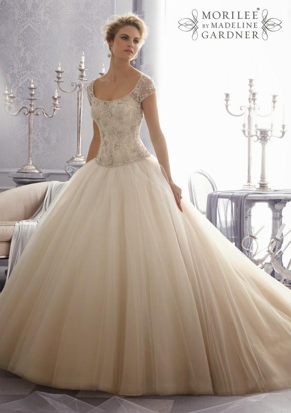 Mori lee by madeline gardner fall 2014 part 2 belle for Madeline gardner mori lee wedding dress