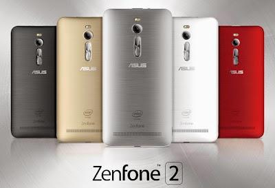 Full phone specifications Asus Zenfone 2 ZE551ML mei 2015
