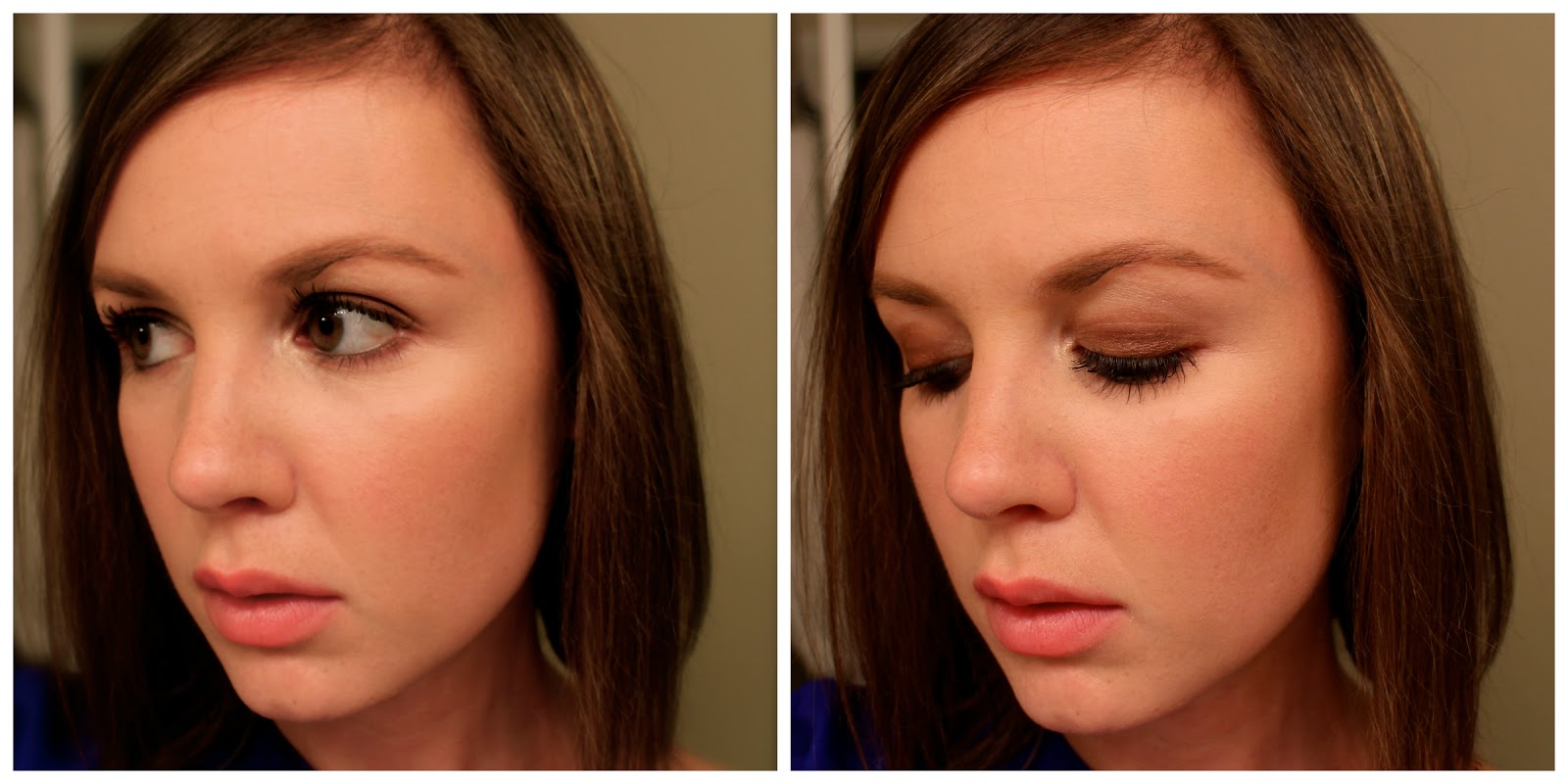 Wearing Bobbi Brown Metallic Eyeshadow Cognac
