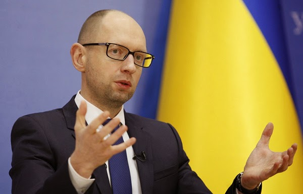 "Yatsenyuk reported on a year-long premiership in ""kamikaze government"""