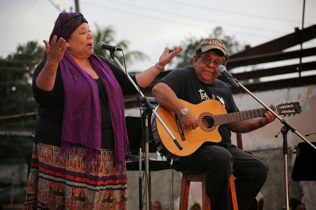 Corina Mestre y Augusto Blanca