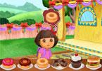 Game Kue Waktunya Dora Berpesta